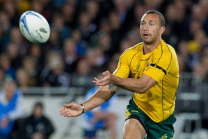 First five-eighths Quade Cooper says the hunger has always been there to play for Australia. Picture / Sarah Ivey