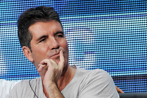 Simon Cowell during a press conference about the upcoming US season of The X Factor. Photo / AP