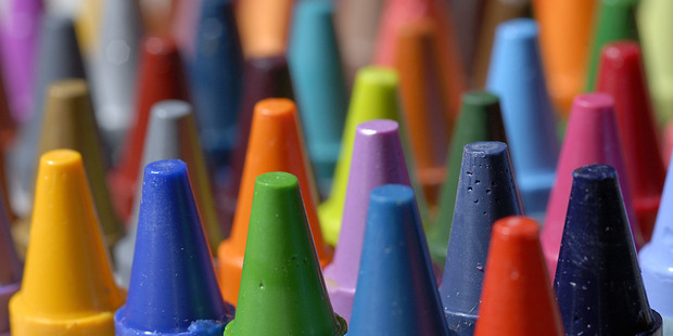 Crayons were a big treat for some growing up - what is it now? iPhones and iPads. Photo / Thinkstock