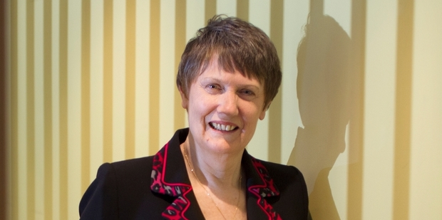 Helen Clark was one of the weekend's inspirational speakers at the TEDx Auckland conference. Photo / Steven McNicholl