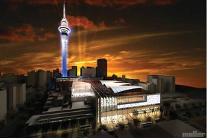 The mayor's office says the Auckland Council has not yet seen the final design plans nor received a resource consent application for the national convention centre.