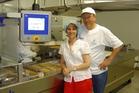 Inge Vercammen and Marcel Naenen from Van Dyck Fine Foods.