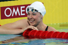 Lauren Boyle swam seven seconds faster than her winning time at the world championships last year. Photo / Ian MacNicol.