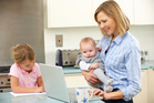 Many of us, like me, chose to do both - motherhood and career - why not? Photo / Thinkstock