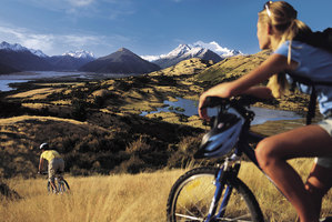 An image used in Tourism New Zealand's '100% Pure' campaign.