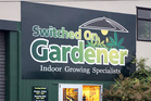 Switched On Gardener shop on Lower Dent Street. Photo / John Stone