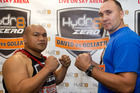 There's some doubt over whether boxer David Tua will be fit to fight at the end of the month. Photo/ Richard Robinson.