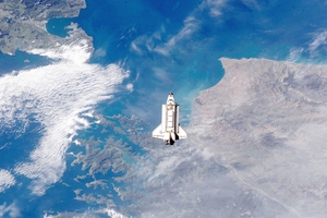 The Endeavour over NZ: Quite a sight for an astronaut dreamer.