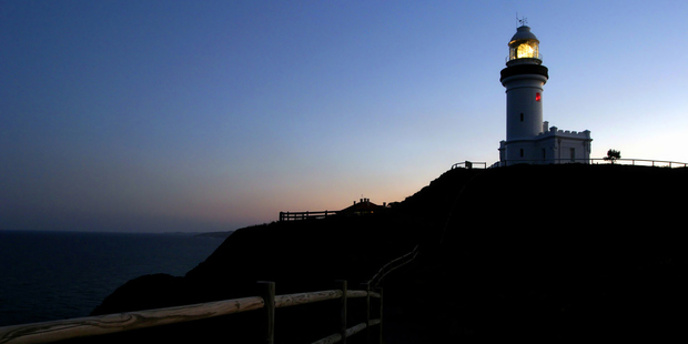 The Byron Heads lighthouse. Photo / Thinkstock
