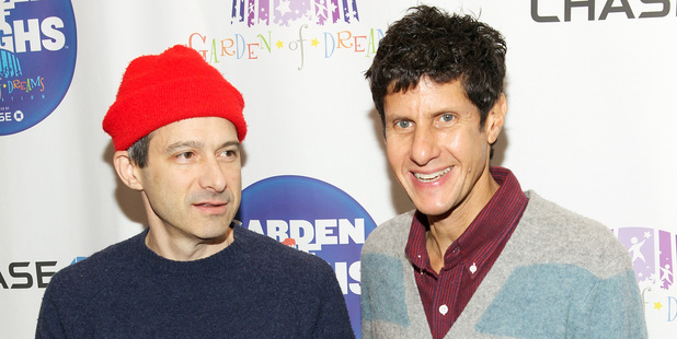 Adam Horovitz 'Ad Rock' and Mike Diamond 'Mike D' of The Beastie Boys. Photo / Getty Images