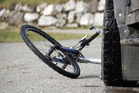 A young boy showed is bravery after his bike was hit by a van. Photo / Thinkstock