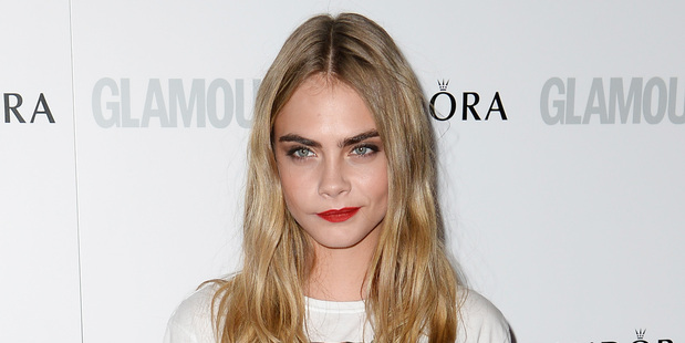 Cara Delevingne attends Glamour Women of the Year Awards 2013 at Berkeley Square. Photo / Getty Images