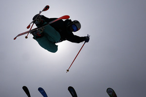 Janina Kuzma of New Zealand competes during day two of the Winter Games. Photo / Getty Images