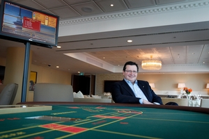 Chief executive Nigel Morrison says SkyCity has hired a top casino crime-buster from the Sands at Macau. Photo / Sarah Ivey