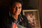 Dev Sangha, whose wife and 2-year-old daughter were murdered in 2010, is facing fresh heartache as his new wife has been denied residency. Photo / Alan Gibson