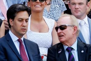 Ed Miliband (left).