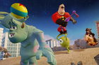 A scene from the Toy Box version of Disney Infinity. Photo / AP