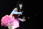 Katy Perry has been rocked by plagiarism claims over her new single Roar. Photo / Greg Bowker