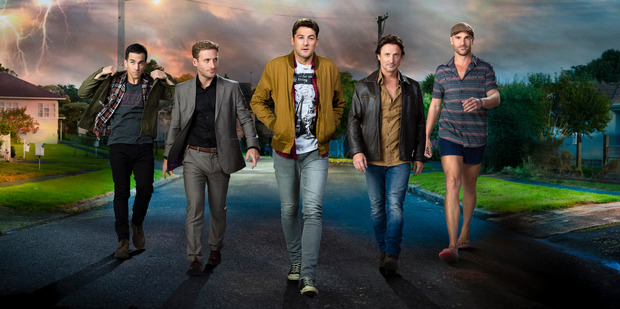 The Almighty Johnsons is set to screen on US cable channel SyFy.