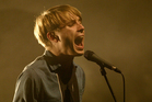 Alexander Kapranos nearly died after consuming a peanut backstage at the Sziget Festival. Photo / Richard Robinson