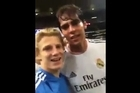 """This video shows Zack, a football fan, invading the field of a match between Real Madrid and Inter Milan and posing with players including Kaka and Sergio Ramos. According to Deadspin the incident happened at the 68th minute of Saturday night's Real Madrid-Inter Milan match in St. Louis. """"Oh and they didn't do much I got cuffed and walked to the jail cell there.. And on my way Ramos said yahh when I was looking at the ground and then when I looked up he winked at me it was the best day ever !"""", Zack reportedly said commenting on the incident."""