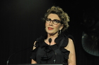 Marie-Ann Billens, Chairperson of Look Good Feel Better, speaking at the Dream Ball on Saturday night.