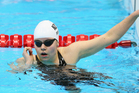 New Zealand's Mary Fisher has bagged her third gold medal at the IPC world swimming championships in Montreal, in the 100m freestyle final. Photo / Getty Images.