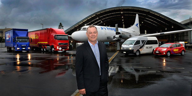 Freightways Limited's Managing Director Dean Bracewell.