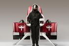 Martin Aircraft Company's latest jetpack prototype.
