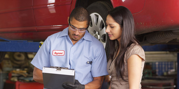 One car mechanic always quotes higher than the expected amount, meaning customers are delighted when the final bill comes in cheaper. Photo / Thinkstock