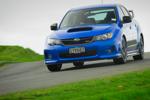 Only a dozen models of the 2013 Subaru WRX Nemesis are for sale in New Zealand.Pictures / Ted Baghurst