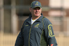 Wallabies coach Ewen McKenzie. Photo / Getty Images