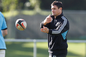 Dan Carter has taken to Twitter to express frustration at his latest injury. Picture / Mark Mitchell