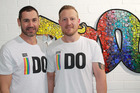 Paul McCarthy and Trent Kandler will wed on Monday.