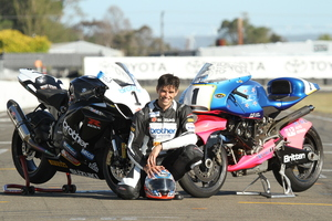 Andrew Stroud will be missed by racing fans and sponsors, but still has options to ride the Britten V1000 all around the world. Picture/Terry Stevenson