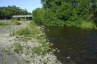 Waithoi River at Powers Road Hurunui District North Canterbury.