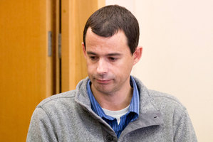 38 year old school teacher James Parker appears for sentencing at Whangarei Court. Photo / NZH