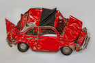 Squished Fiat 500 Photo / Supplied