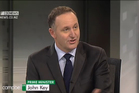John Key's performance on Campbell Live has been praised by the host.