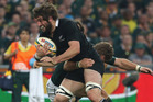 Sam Whitelock has come of age as a genuine hard man in the All Black pack. Photo / Getty Images