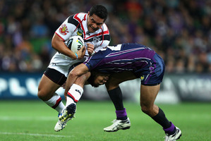 Konrad Hurrell needs to be given more time and space on the pitch. Photo / Getty Images