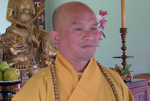 Senior Venerable Thich Phuoc An, founder and abbot of Quan Am Buddhist Monastery