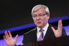Prime Minister Kevin Rudd is rejecting any formal alliance with the Greens. Photo / Getty Images
