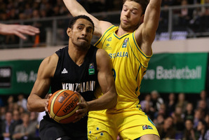 Tall Blacks captain  Mika Vukona insists the team are ready to turn the tables. Photo / Getty Images