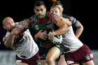 Souths and Manly showed why they're among the NRL's frontrunners. Photo / Getty Images