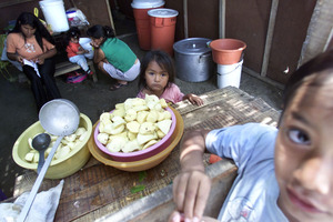 In many Third World countries, children can be a source of income. Photo / AP