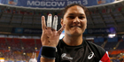 View: Valerie Adams takes the gold