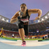 Valerie Adams competes in the women's shot put final at the World Athletics Championships. Photo / AP