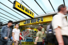JB Hi-Fi recorded sales growth of 5.8 per cent for the year. Photo / Greg Bowker