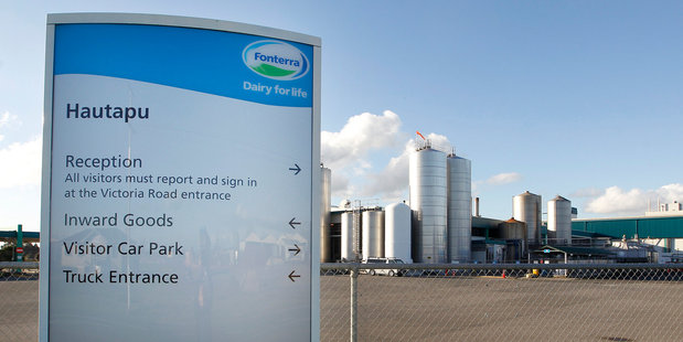 The botulism scare had its origins at Fonterra's Hautapu plant in Waikato. Photo / Christine Cornege